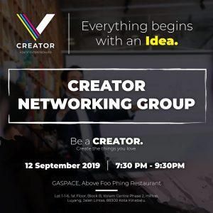 MONTHLY CREATOR NETWORKING GROUP (KK)