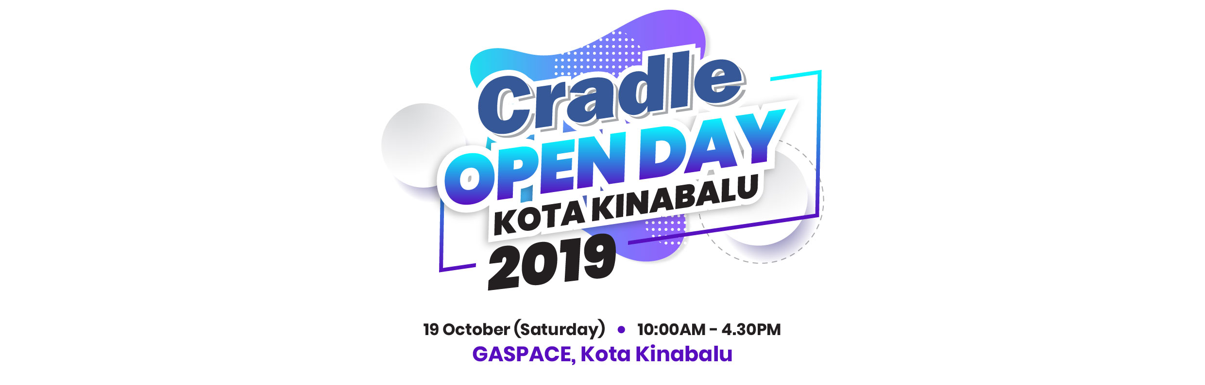 Cradle Open Day