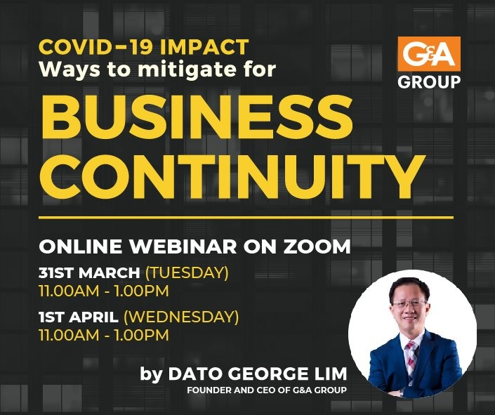 COVID-19 IMPACT : WAYS TO MITIGATE FOR BUSINESS CONTINUITY